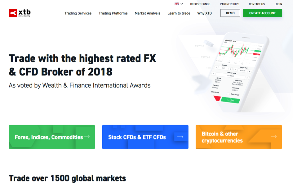 Our Spreads | XTB Online Trading | XTB
