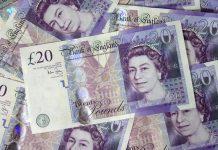 money, pound, British, sterling, Great Britain, UK, money, banknote