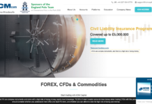 ICM Capital broker homepage