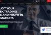FXBulls broker homepage