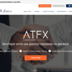ATFX homepage