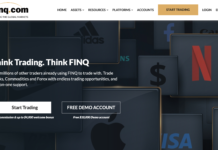 Finq.com homepage