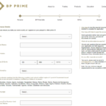 BP Prime registration