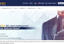FXORO homepage