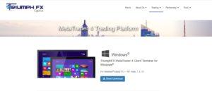 triumph fx trading platform