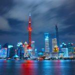 Shanghai, China, city