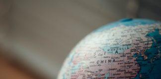 asia, globe, china