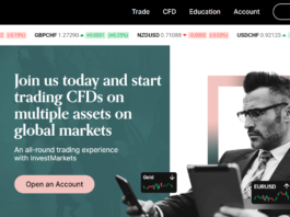 InvestMarkets fron page
